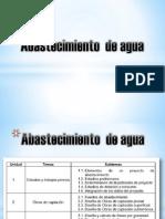 Abastecimiento de Agua Unidad 1 Ago-dic 2015