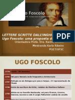 Lettere Scritte Dall Inghilterra de Ugo Foscolo - Uma Proposta de Tradução