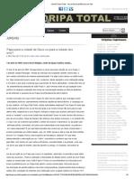 Jornal Floripa Total - Hector e Selvino -Papa