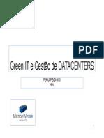 Green IT e Gestão de DATACENTERS.pdf