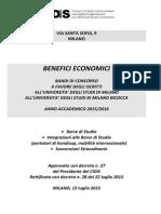 Bando Unico Benefici Economici 2015_2016 Statale e Bicocca Definitivo 3