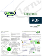 Folheto Lernu - O Portal do Esperanto