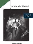 Frederic T. Wright -- ICH DENKE WIE EIN MENSCH