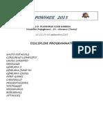 fiselazio ponyadi programma settembre 2015 2