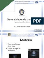 Generalidades de La Materia