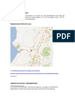Geografia Valle Del Cauca