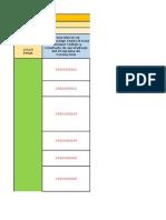 Matriz Para Estructura La Planeación Del Proyecto TSP