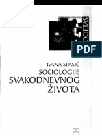 Ivana Spasic - Sociologije Svakodnevnog Živo Ta