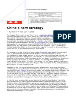 China's New Strategy, Will Asia Balance, Foreign Policy, Walt
