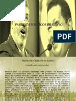 Partidos Politicos en Egipto. Presentación