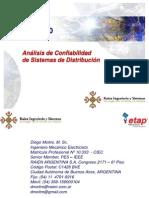 Analisis de Confiabilidad de Sistemas de Distribucion_ETAP 12