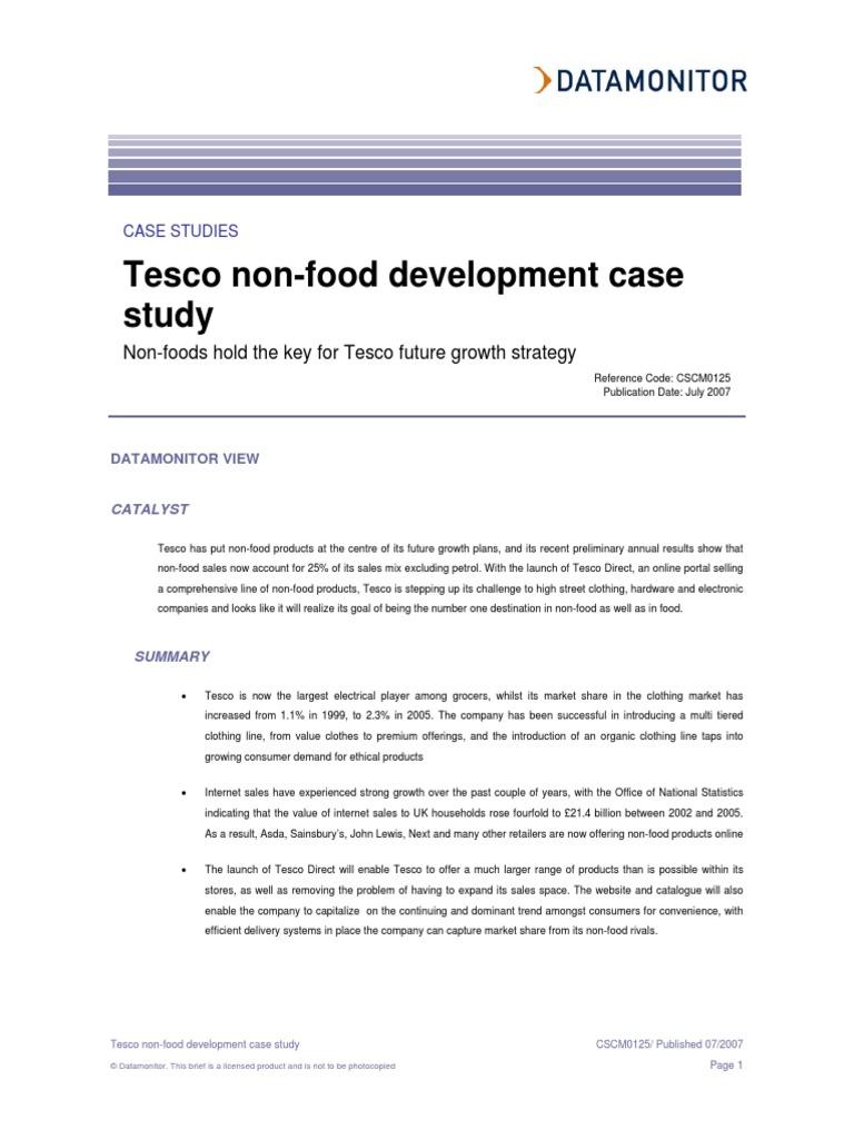 tesco market development