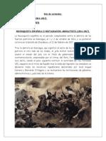 Reconquista y Patria Nueva