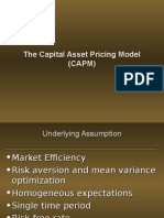54274499 the Capital Asset Pricing Model CAPM