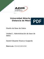 base de datos unidad 1 actividad 1