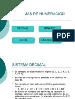 Sistemas Numeración