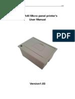 CSN-A4II User Manual