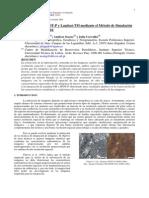 Fusión de Imágenes Spot y Landsat Mediante Método de Simulación Geoestadística Estocástica