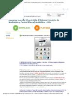 Descargar Metodo Silva de Vida-El Ssdistema Completo de Meditación y Control Mental_ Audiolibro + Libr PDF Descargar Gratis
