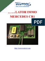 3502073-Manual-Mercedes Benz CR1 IMMO Emulator