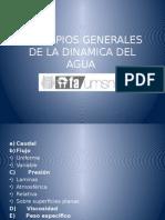 Principios Generales de La Dinamica Del Agua