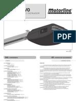 Manual Motorrosso Evo Cf y CA 60-100-120