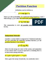 4. Diatomic Molecule Partition Function