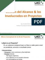 Generalidades de Proyectos - Gestion de Los Involucrados Alcance 2015