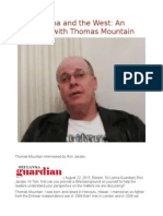 Africa, China and the West an Exchange With Thomas Mountain