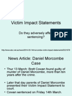 Victim Impact Statements