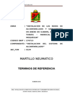 Expediente de Contratacion de MARTILLOS NEUMATICOS