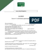 PHILOSOPHIE terminale LIBERTE