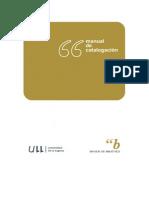 Manual Catalogacion