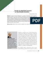 O princípio da dignidade humana na Constituição brasileira