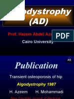 1-17 Algodystrophy---