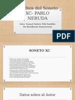 Análisis Del Soneto Xc- Pablo Neruda