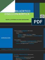 Aneurisma Aórtico vs Disección aortica