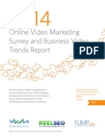 2014 Online Video Marketing Survey and Trends Report-NEW