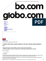 G1 - Confira Dicas Para Quem Embarca Em Um Cruzeiro Pela Primeira Vez - Notícias Em Turismo e Viagem
