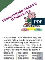 Desnutrición Grado II o Moderada