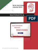 Material Semana 6 Matemática Ecuaciones Lineales y Cuadráticas Versión PDF
