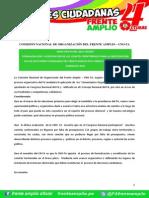 Directiva N° 001- 2015 - CNO-FA