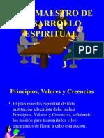 Plan Maestro De Desarrollo Espiritual