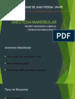 Anestesia Local Mandibular