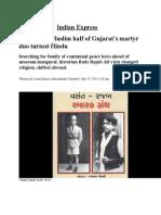 Gujarati Muslim Turns Hindu