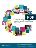 Cambridge Exam Examinations, Support and Preparation Materials