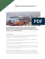 Chile La Complejidad de La Matriz Exportadora