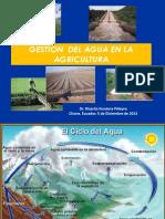 Conferencia Gestión Del Agua en La Agricultura FINAL