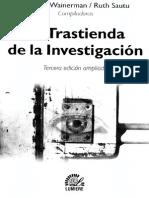 WAINERMAN 2001 Errores Comunes en Investigaciones Sociales001