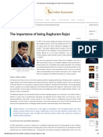 The Importance of Being Raghuram Rajan _ the Indian Economist